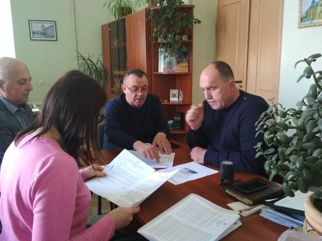 Відновлення роботи золочівського ринку. Ігор Гриньків